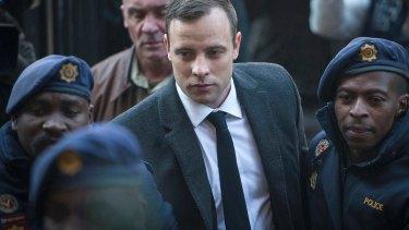 Jailed for six years: Oscar Pistorius.