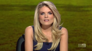 co-host Erin Molan.