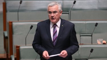​Independent Tasmanian MP Andrew Wilkie flatly denies leaking the report.