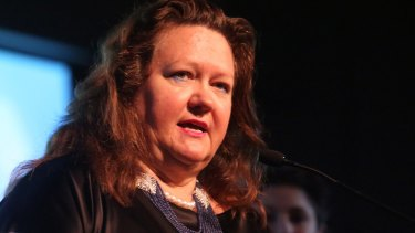 This is not the first time Gina Rinehart has been the victim of scam emails.
