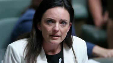 Labor MP Emma Husar speaks about her personal experience with family violence.