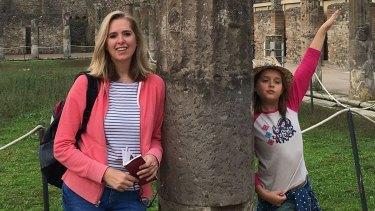 Richard Cousins' fiancee Emma Bowden, 48, and her daughter Heather, 11.