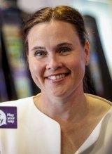 Labor's State Minister for Gaming Jane Garrett.
