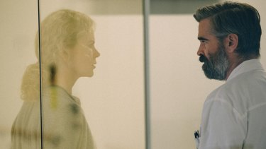 Nicole Kidman and Colin Farrell in Yorgos Lanthimos' The Killing of a Sacred Deer.