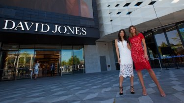 David Jones' discounting has cut Myer's sales growth by as much as 2 per cent.