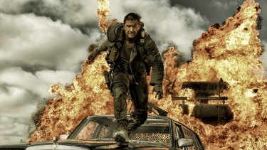 Ten nominations ... <i>Mad Max: Fury Road</i>.