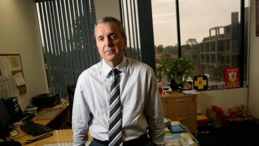 Pharmacy Guild of Australia national president George Tambassis.