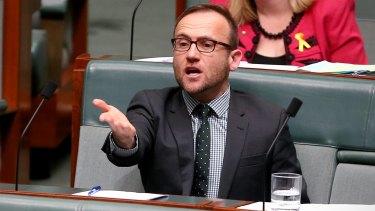Greens MP Adam Bandt