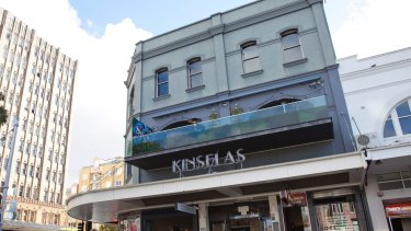 Kinselas at Taylor's Square is on the market.
