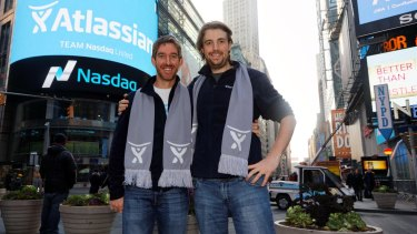 Co-CEOs Mike Cannon-Brookes and Scott Farquhar continue to own more than half of the company.