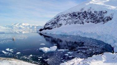 Melting moments: Neko Harbour, Antarctica.