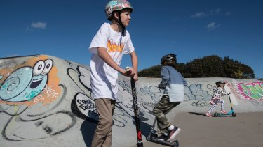 Ethan Wright, 13 of Camden, nearly died after an accident recorded on video by friends.