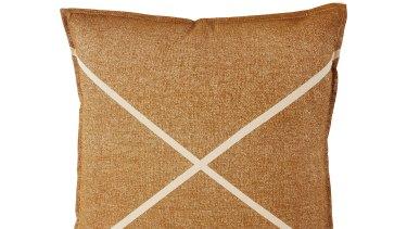 Simple Times cushion, $99.