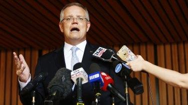 Treasurer Scott Morrison invoked the old 'fake news' line to deflect an unwelcome question on talkback radio last week.