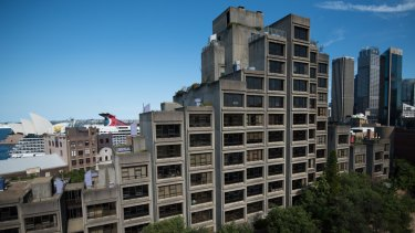 Located on Cumberland Street in The Rocks, the Sirius building's brutalist concrete box architecture has divided public opinion for almost 40 years.