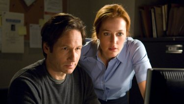The truth is out there: David Duchovny and Gillian Anderson star in a six-episode <I>X-Files</i> series remake.