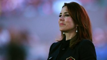 Denmark's Princess Mary attends the opening ceremony of the Rio Olympics.