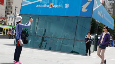 Chinese visitors rank shopping as their No. 2 activity in Melbourne.
