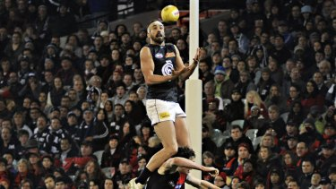 Andrew Walker made highlight reels around the world with his 2011 screamer over Jake Carlisle.