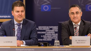 Unbundling bid: Members of the European Parliament Andreas Schwab and Ramon Tremosa have called for providers of search engines to separate that aspect from other parts of their businesses.