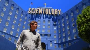 Louis Theroux is known for tackling subjects like Scientology with his immersive journalism.