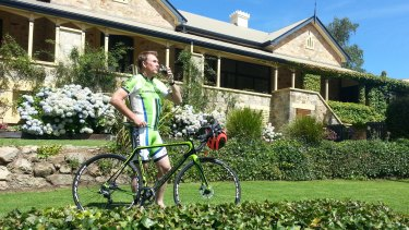 Stephen Lacey combines pedaling with pinot on a preview of Stuart O'Grady's private Tour Down Under.