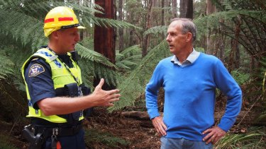 Bob Brown is arrested in Tasmania. Under controversial new laws which prevent protests at workplaces, the former Greens leader was charged with 'failing to comply with a direction to leave a business access area'.