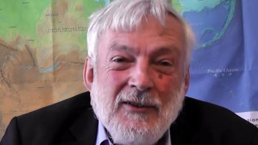 Controversial comments: Professor Peter Wadhams.