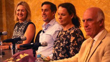 Mitchell Pearce at The Banksia Project mental health evening.