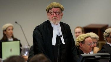 Social security law has been broken: Melbourne QC Robert Richter.