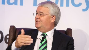 Michael Andrew is finalising his recommendations to the federal government on strategies to combat the black economy.
