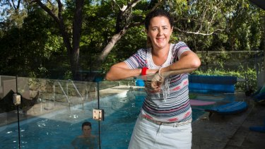 "Homeowner Cate Bacon says pool owners could ""save a fortune"" on power bills by doing their research."