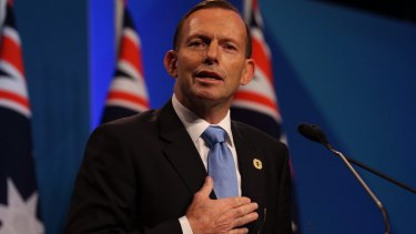 "Tony Abbott: described as ""eccentric""."