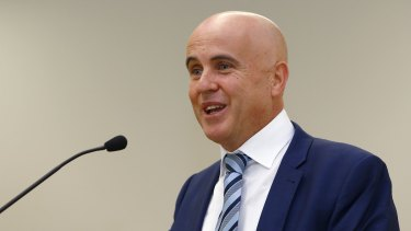 Dumped: Adrian Piccoli says education is the greatest job a minister can have