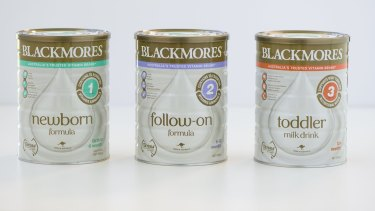 Blackmores has managed to win just 0.1 per cent of the $173 million infant formula market.