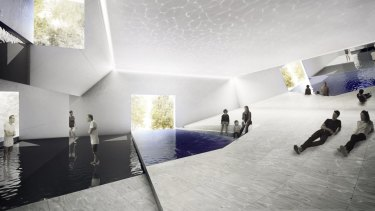 Venice Arhictecture Biennale entry <i>The Pool</i>.