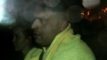 Bassam Raad following his arrest in July.