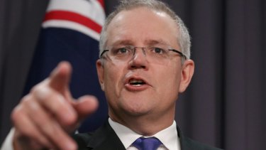 """Scott Morrison said: """"I don't think a rerun of the 2014/15 budget is what the government is looking at, no."""""""