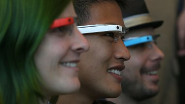 Google Glass is dangerous because it allows you to continue using it while you appear to be engaged with the world around you, paper's co-author says.