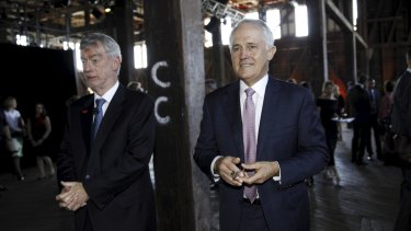Prime Minister Malcolm Turnbull had some tough words for Westpac Chairman Lindsay Maxsted in Sydney on Wednesday.