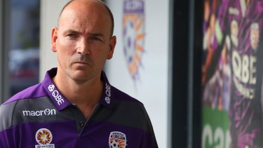 Resigned: Perth Glory chief executive Jason Brewer.