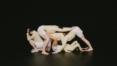 Ivey Wawn's Adventure Dances was at the Underbelly Arts Festival.