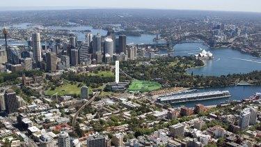 Sydney's east has risen.