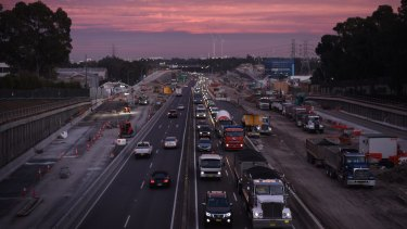 The NSW government has refused to provide weekly data about traffic volumes on the M4.