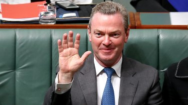 Plenty of time: Minister for Defence Industry Christopher Pyne.