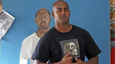 Condemned Australian Myuran Sukumaran has developed a passion for art while on death row in Kerobokan prison in Denpasar, Bali.