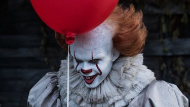 Bill Skarsgard's portrayal of Pennywise in the film IT is an uncanny fusion of adult and child.