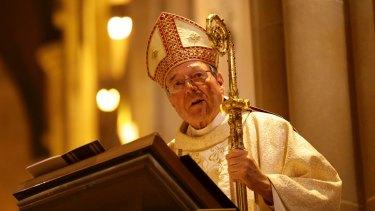 Former Archbishop of Sydney, Cardinal George Pell.