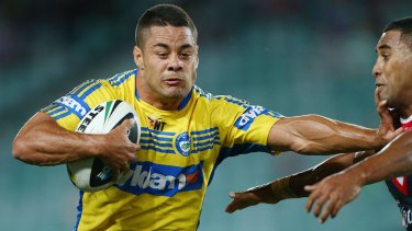 Back in blue and gold?: Jarryd Hayne.