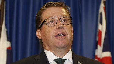 Troy Grant failed to act on advice that a landmark gambling harm report should be released as soon as possible.